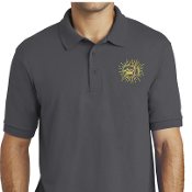 Madison Strong Embroidered Polo