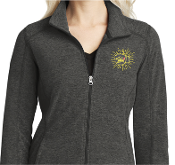 Madison Strong Embroidered Zip-Up Microfleece Ladies Jacket