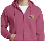 Madison Strong Embroidered Zipper Hoodie
