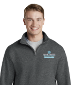 Moses Cone Emergency Dept 1/4 ZIP Sweatshirt